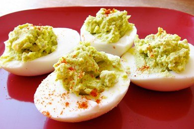 Healthier Deviled Eggs Recipe