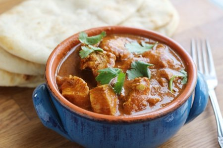 Healthy Slow Cooker Butter Chicken – Instant Pot, too!
