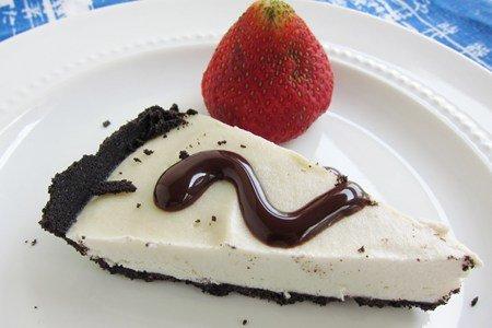 Freezer Cookie Pie Recipe