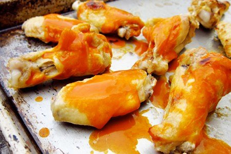 Healthy Buffalo Chicken Wings Recipe