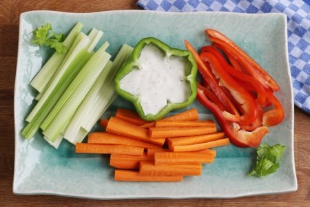 Make Raw Vegetables Pop