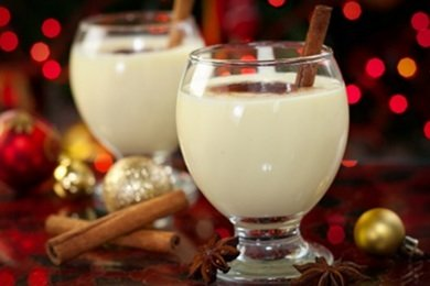 Healthier Lighter Egg Nog