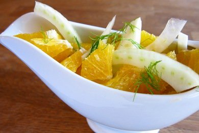 Orange Fennel Salad Recipe