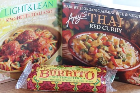 Amy's Frozen Meals Reviews