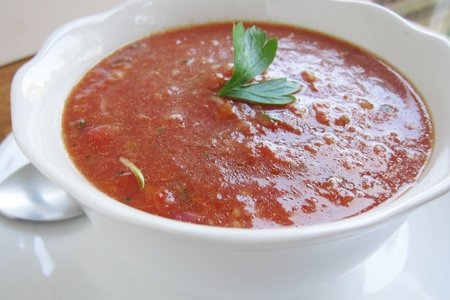 Simple Gazpacho Soup