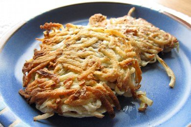 Lighter Potato Latkes for Hanukkah