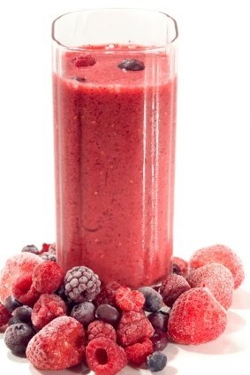 mixedberrysmoothie