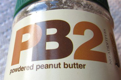 Low Calorie Peanut Butter: PB2