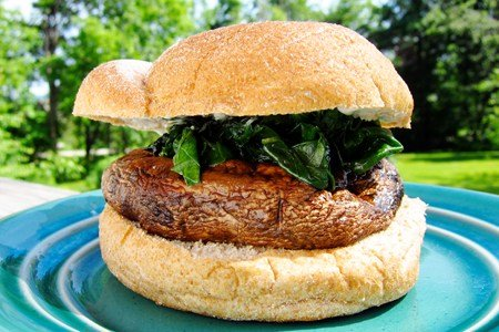 Grilled Beef And Mushroom Burger Recipes — Dishmaps