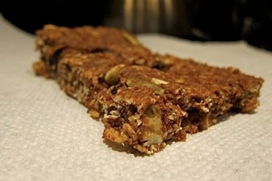Chocolate Pumpkin Protein Bars - YUM!
