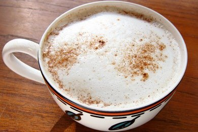 Low Calorie Pumpkin Spice Latte