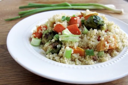 Quinoa Roasted Veggie Salad