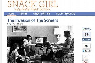 Snack Girl Redesign