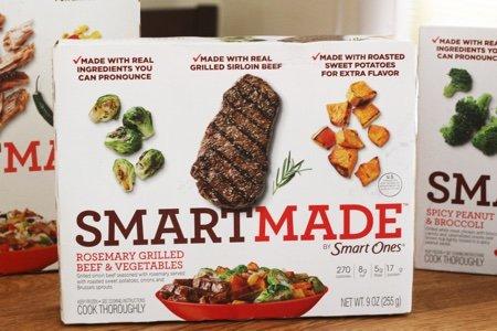 Smart Ones Meals offer Smart Made: A Real Food Option