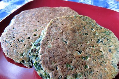 Spinach Pancake Recipe