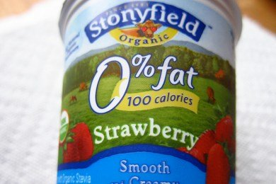 Stevia in Stonyfield Yogurt