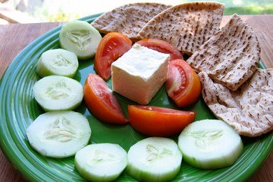 Healthy Turkish Breakfast