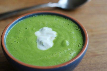 Vitamix Zucchini Soup