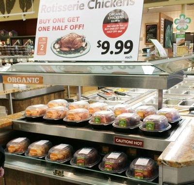 Whole Foods Organic Rotisserie Chicken